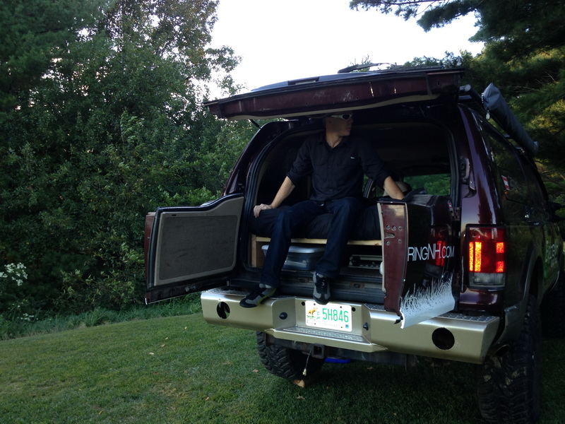Discreet camping exploringnh a quick guide to discreet camping or sleeping in your truck while traveling sciox Choice Image